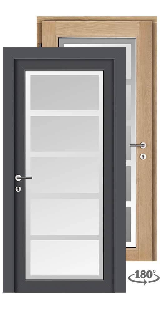 holz aluminium t ren schmidt. Black Bedroom Furniture Sets. Home Design Ideas