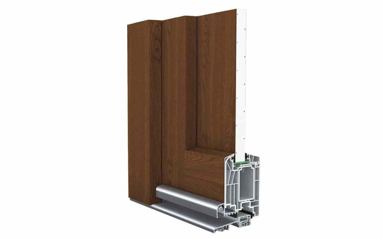 Tür kunststoff  Kunststoff-Aluminium-Türen - schmidt-visbek.de